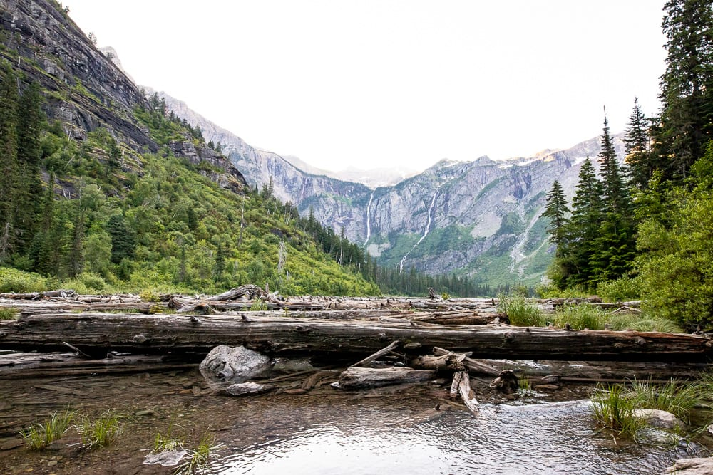Visiting Glacier Mountain National Park During  the Pandemic