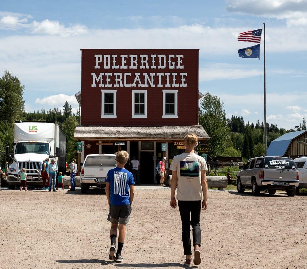 Polebridge Mercantile, visiting Glacier Mountain National Park During the pandemic