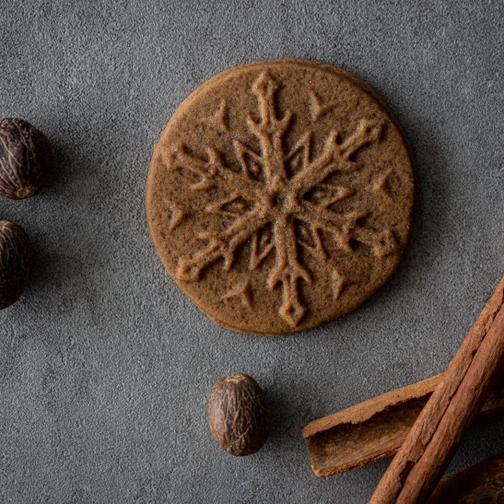 Stamped Gingerbread Cookies
