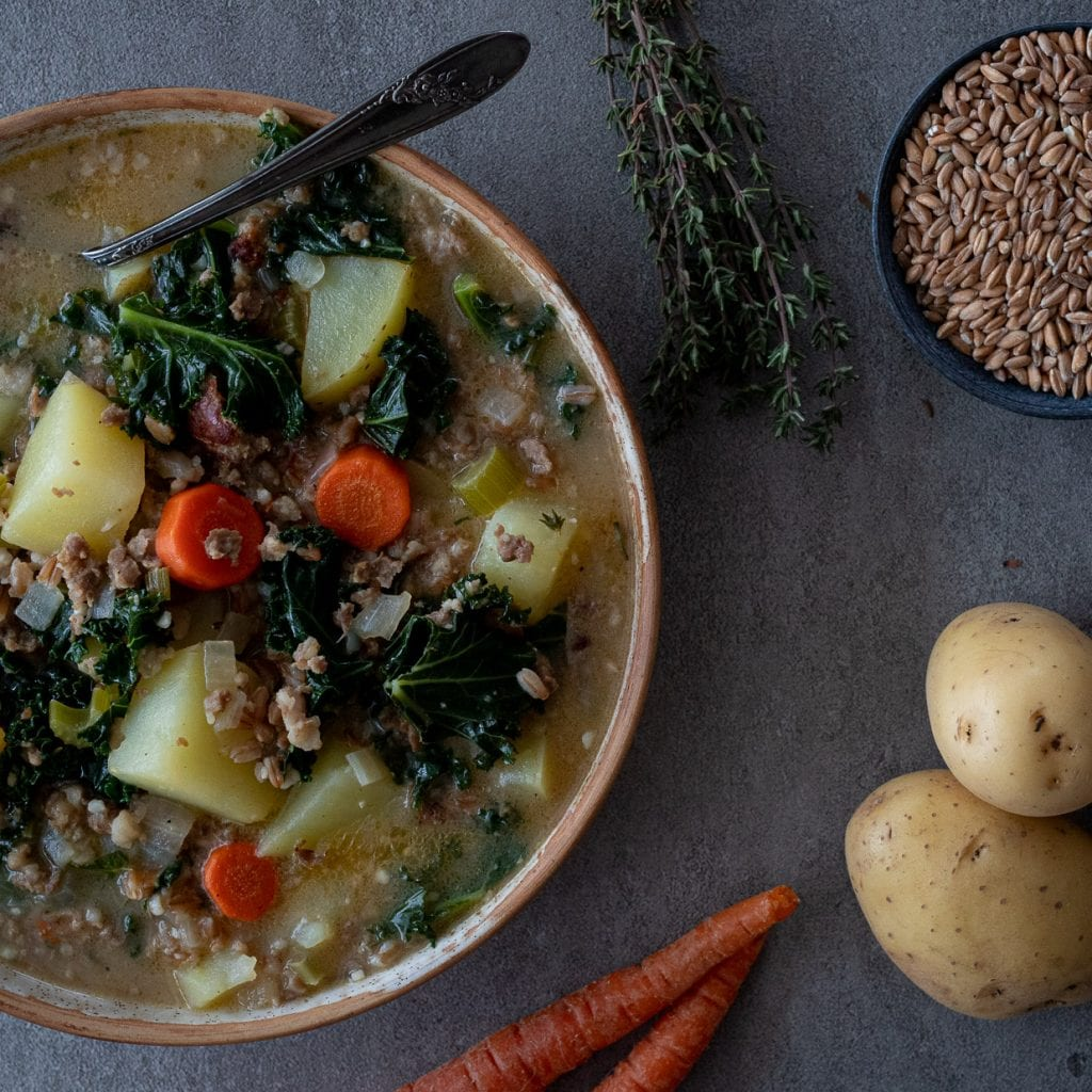 Best Sausage And Farro Soup