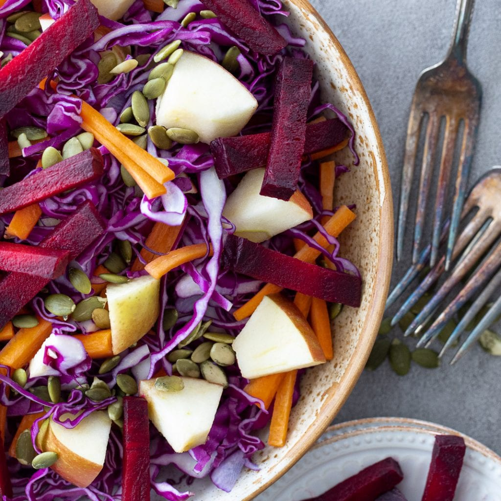 Healthy Beet And Popped Quinoa Salad