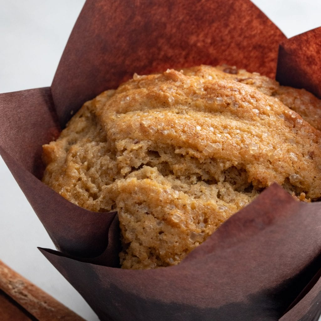 Healthier Sprouted Grain Pecan Muffins