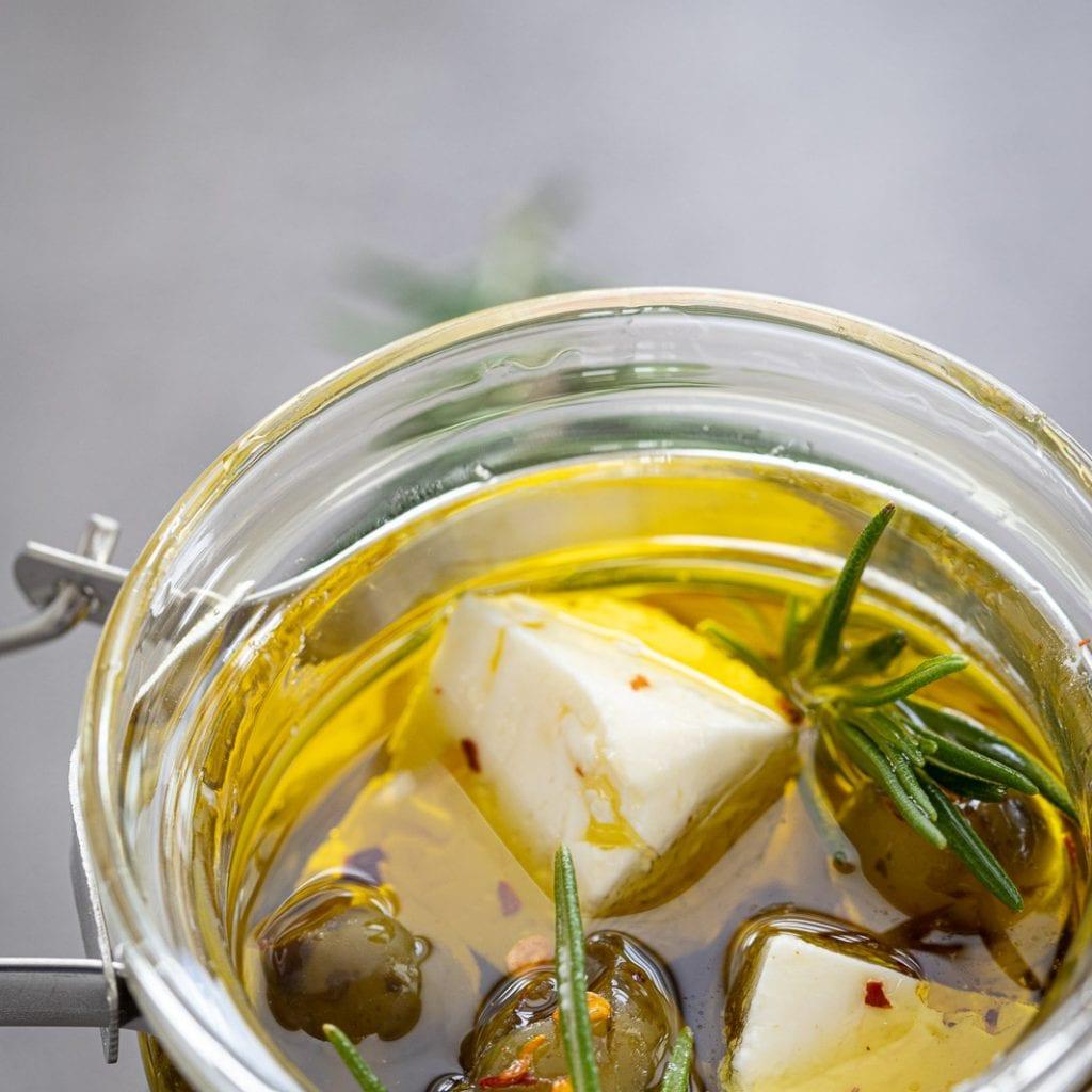 Easy-To-Make Marinated Feta