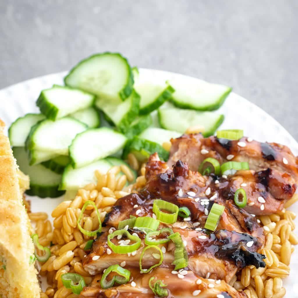 Effortless Grilled Chicken Teriyaki