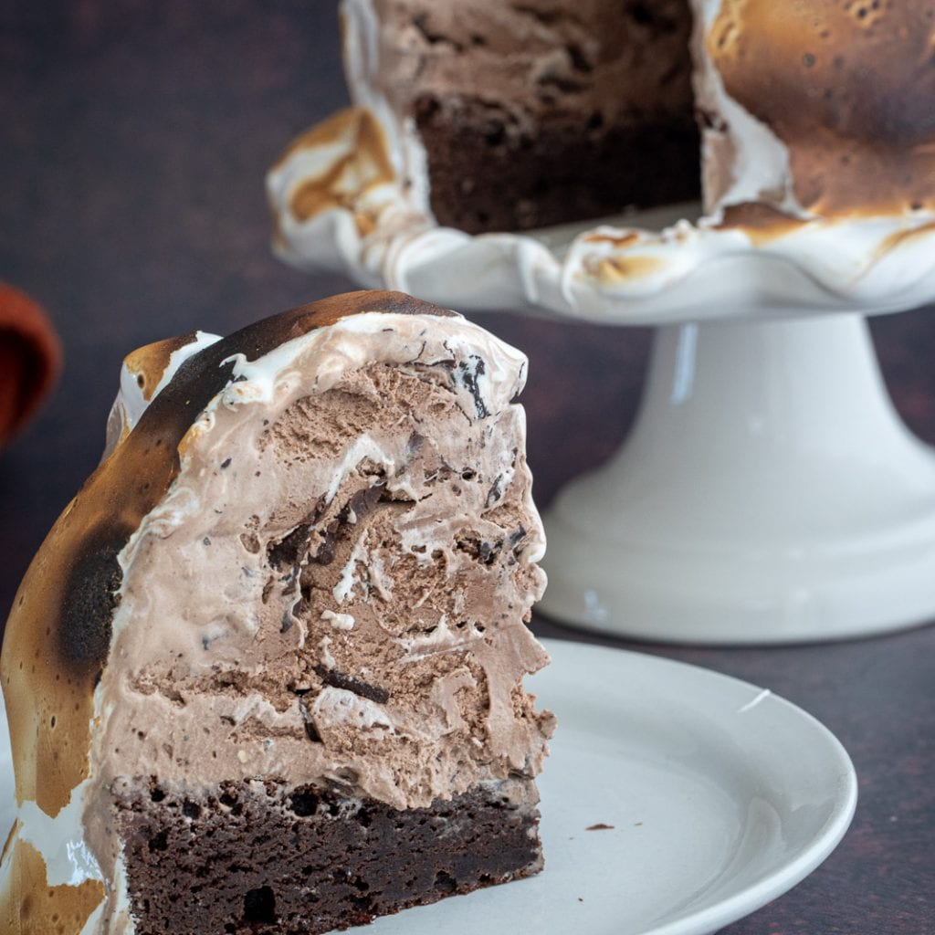 Chocolate Lovers Baked Alaska Recipe