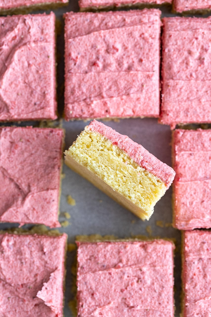 The Best Strawberry Sugar Cookie Bars