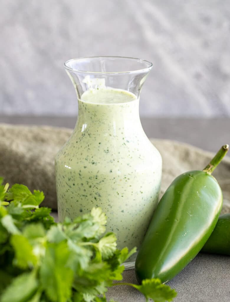 Easy and Spicy Jalapeno Ranch Dressing