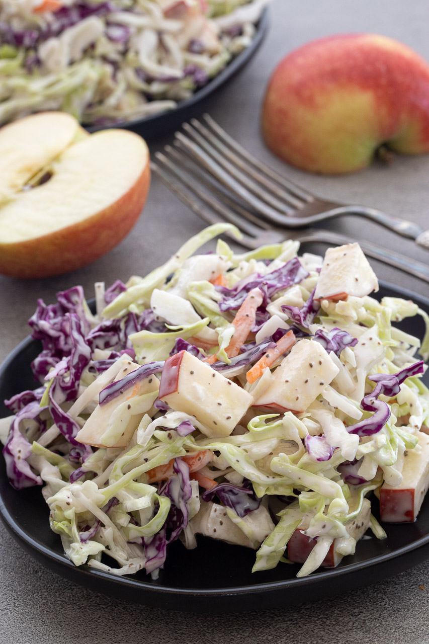 Simple and Healthy Apple Slaw