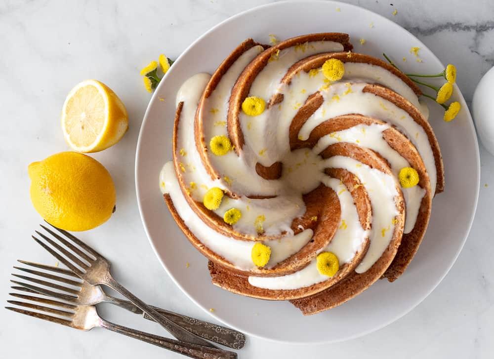 How to Bake a Lemon Chamomile Bundt Cake