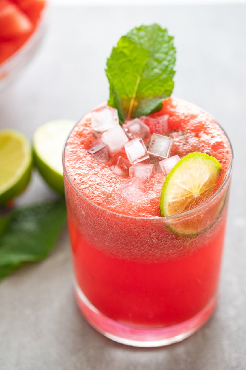 Quick and Easy Watermelon Mocktail