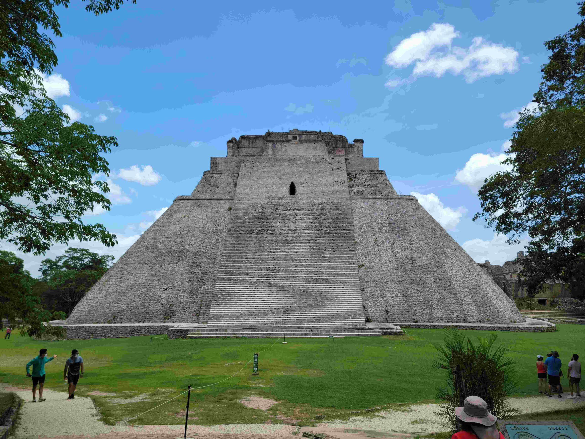 pyramid opening