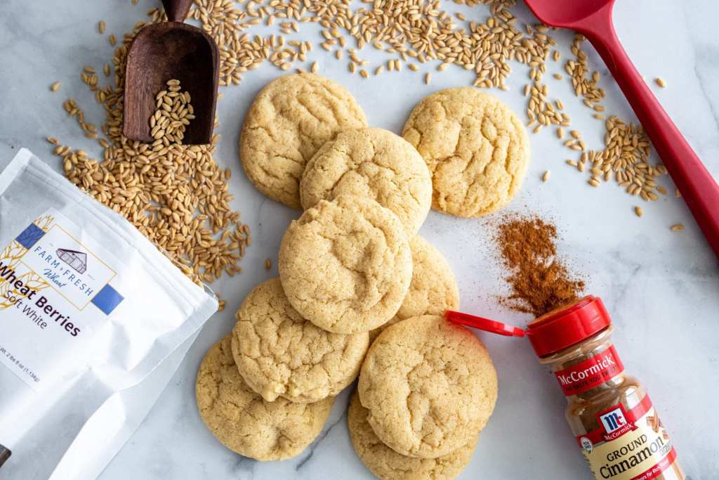 Chewy Snickerdoodle Cookie recipe
