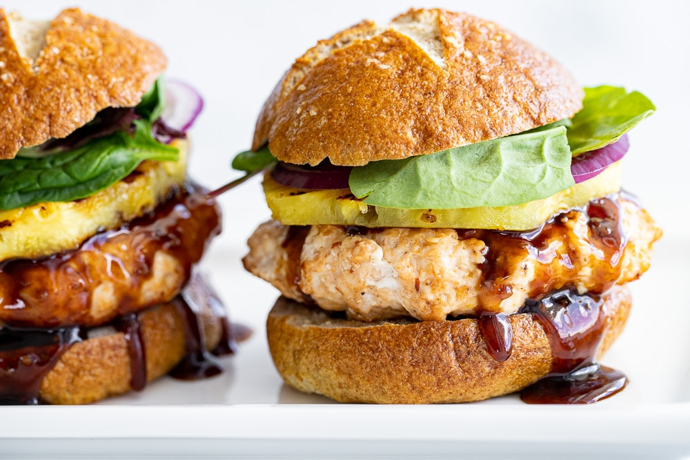 Tasty Teriyaki Chicken Burgers