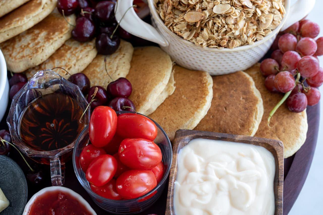 healthy breakfast platter