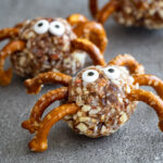 Halloween Spider Snacks.